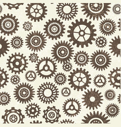industrial seamless pattern vector image vector image