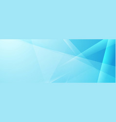 abstract blue tech shiny low poly banner design vector image