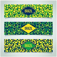 Brazilian carnival banner vector image