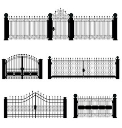 Gate and fence vector