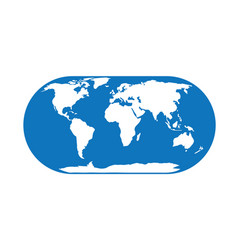 globe earth 12 vector image