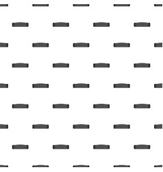 Mini radiator pattern seamless vector