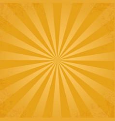 rays background yellow vector image