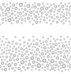 Seamless rhinestones vector