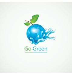 Eco Go Green vector image vector image