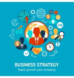 Business and management modern concept vector
