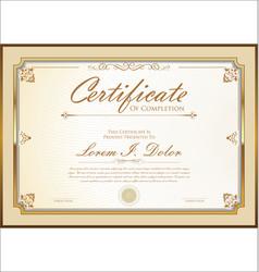 Certificate 03 vector