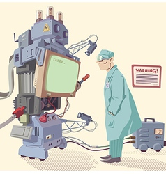 Human and machine vector