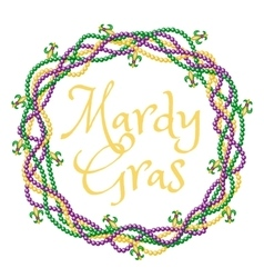 Mardy gras greetings vector