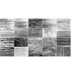 Realistic wooden texture vector