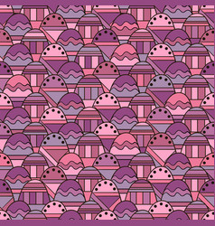 seamless abstract with geometric pattern vector image