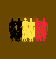soccer team flag design russia wallpaper sport vector image