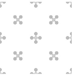 spy drone pattern seamless vector image
