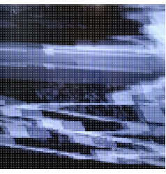 glitched abstract background made of vector image
