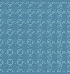 neutral seamless celtic knotwork pattern vector image
