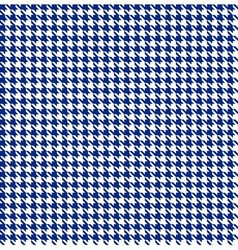 Blue-white houndstooth background -seamless vector