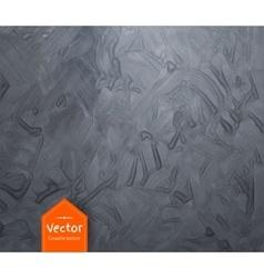 Gouache gray texture vector image vector image