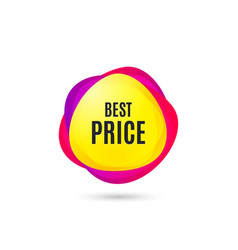 best price special offer sale sign vector image