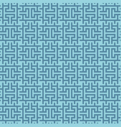 blue squares modern seamless pattern vector image