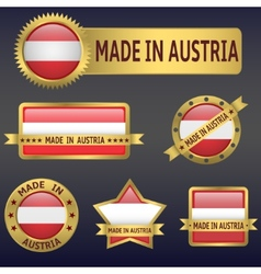 Made in Austria vector