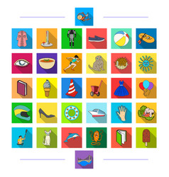 Medicine education textiles and other web icon vector