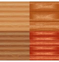 Patterns texture wood vector
