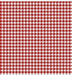 Red-white houndstooth background -seamless vector image