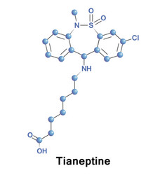 Tianeptine drug treatment vector
