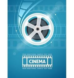 Cinema movie film vector image vector image