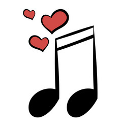 wedding music icon cartoon vector image