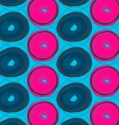 Blue and pink circles vector image