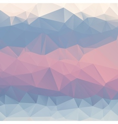 Abstract pink blue light blue background polygon vector