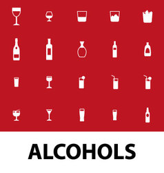 Alcohols vector