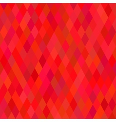 Bright Red Geometric Background vector image