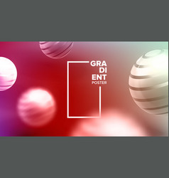 fluid background liquid abstract shape vector image