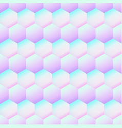 holography rhombus pattern vector image