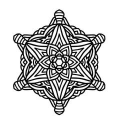 Mandala for henna mehndi tattoo decoration vector