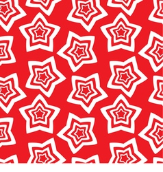 Seamless wallpaper repetitive print with stars vector