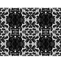 simple lace with large flower vector image vector image