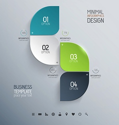 infographics design 2 vector image vector image
