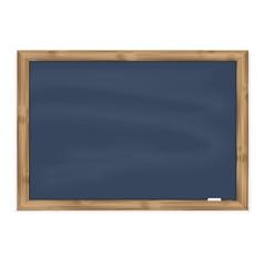 Grey chalkboard vector image