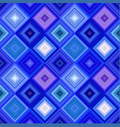 blue abstract diagonal square tile mosaic pattern vector image