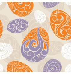 graphic eggs background vector image