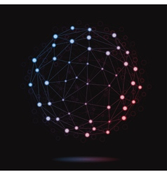 Modern atomic sphere vector