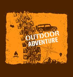 off road outdoor adventure vector image
