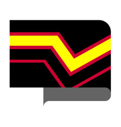 Rubber pride flag vector