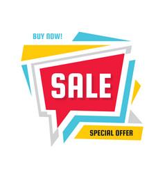 sale - discount concept banner vector image