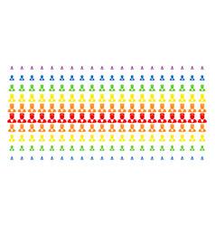 doctor shape halftone spectral effect vector image