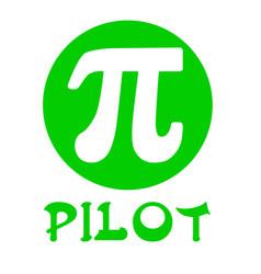 greek letter pi vector image