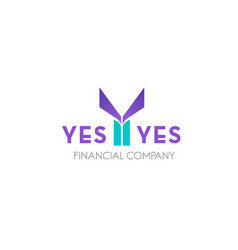 icon for financial company vector image